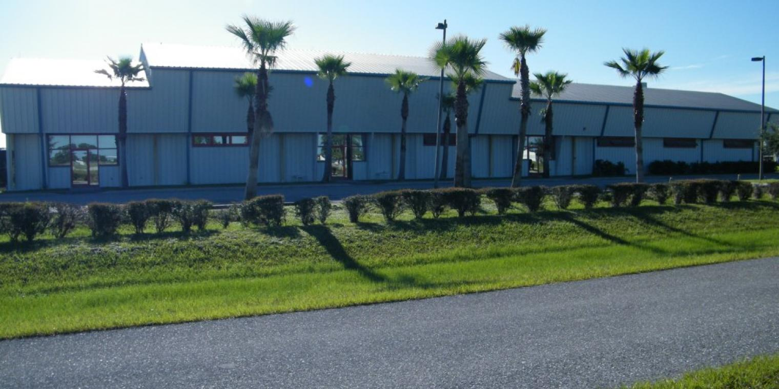 An exterior shot of the Culinary Accelerator @ Immokalee