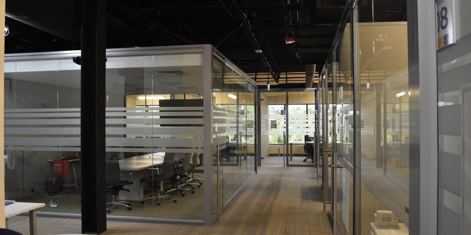 Image of a view offices at the Naples Accelerator